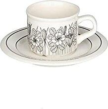 180Ml Europäische Retro Kaffeetasse Set Mit