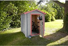 183 cm x 183 cm Fahrradgarage Bex aus Holz WFX