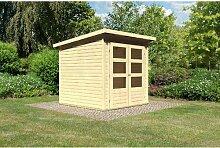 183 cm x 183 cm Gartenhaus Stockach Woodfeeling