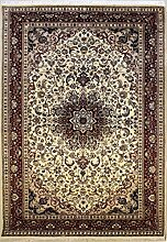 185x287 Pak Persian Design Area Rug with Wool Pile