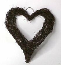 19 cm Kranz Heart aus Weinreben Die Saisontruhe