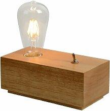 19 cm Tischleuchte Edison Lucide Gestellfarbe: