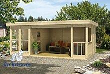 19 mm Gartenhaus Lisette ca. 609x364 cm