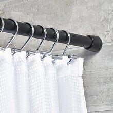 190 cm gerade und verstellbare Duschvorhangstange
