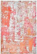 19110 Teppich Handgefertigt Rot 200x290 cm