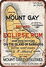 1937Mount Gay Eclipse Rum Vintage Look