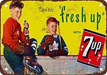1948in Kanada Hockey und 7-up Vintage Look
