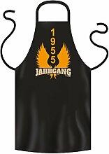 1955 JAHRGANG - Coole Grill- oder Kochschürze als