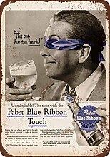 1956Pabst Blue Ribbon Bier Geschmack Test