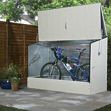 196 cm x 89 cm Fahrradgarage Premium aus Metall