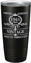 1961 60. Geburtstag Geschenk Aged To Perfection