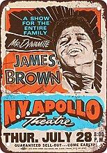 1966James Brown bei der Apollo Theater Vintage