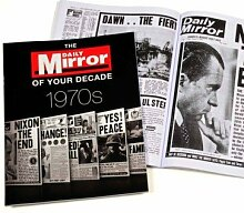 1970s Daily Mirror of Your Decade Book by