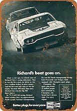 1972 Richard Petty for Champion Spark Plugs Metall