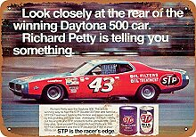 1972 Richard Petty for STP Oil Treatment Metall