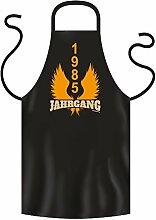 1985 JAHRGANG - Coole Grill- oder Kochschürze als