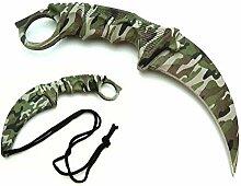 19cm Camouflage Militärmesser BW Honshu Karambit