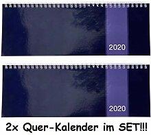 1a-becker 2X Tischkalender Kalender 2020