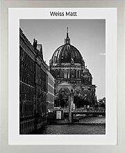 1a-Bilderrahmen Monzetta 50x70 Weiss matt 70x50 cm