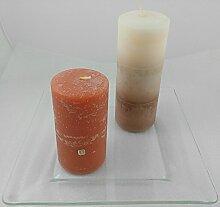 1a PartyLite - 5-Docht-Kerzenschale Glas -