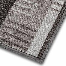 1A Teppich-Läufer auf Maß gekettelt   Murano (100x900, grau)
