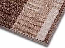 1A Teppich-Läufer auf Maß gekettelt   Murano (80x250, beige)