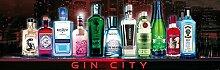 1art1 102179 Bars - Gin City, 1-Teilig Fototapete