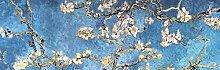 1art1 102382 Vincent Van Gogh - Blühende Mandelbaumzweige, 1890, 1-Teilig Fototapete Poster-Tapete 250 x 79 cm