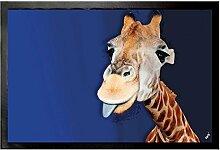 1art1 102385 Giraffen - Giraffe mit