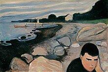 1art1 102734 Edvard Munch - Melancholie, 1892
