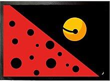 1art1 108547 Logos - Ladybug Fußmatte Türmatte 70 x 50 cm