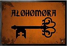 1art1 109906 Zauberer - Alohomora Fußmatte Türmatte 60 x 40 cm