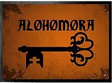 1art1 109907 Zauberer - Alohomora Fußmatte Türmatte 70 x 50 cm