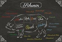 1art1 115290 Kochkunst - Teilstücke Vom Schwein
