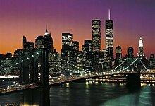 1art1 40563 New York - Manhattan 8-teilig