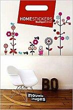 1art1 41095 Dekoration - Russische Babouchka Wand-Tattoo Aufkleber Poster-Sticker 51 x 34 cm