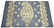 1art1 76153 Dekoration - Retro Style Fußmatte Türmatte 70 x 40 cm