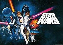 1art1 91445 Star Wars - Episode IV, Eine Neue Hoffnung, 1-Teilig Fototapete Poster-Tapete 160 x 115 cm