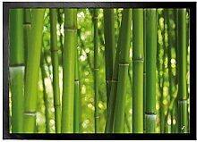 1art1 94567 Bambus - Bambuswald Fußmatte
