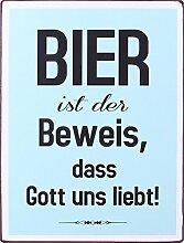 1art1 98155 Bier - Bier Ist Der Beweis, DASS Gott