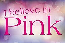 1art1 98945 Audrey Hepburn - I Believe In Pink