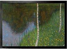 1art1 99514 Gustav Klimt - Seeufer mit Birken,