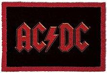 1art1 AC/DC - Logo | Fußmatte Innenbereich und