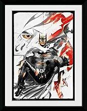1art1 Batman - Rip Gerahmtes Bild Mit Edlem