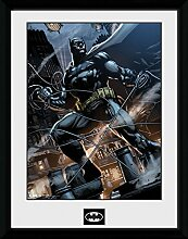 1art1 Batman - Rope Gerahmtes Bild Mit Edlem