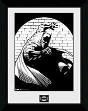 1art1 Batman - Spotlight Gerahmtes Bild Mit Edlem