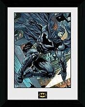 1art1 Batman - Swing Gerahmtes Bild Mit Edlem