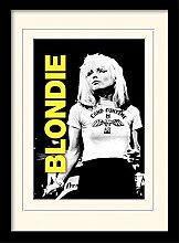 1art1 Blondie - Live Gerahmtes Bild Mit Edlem