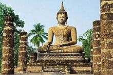 1art1 Buddhas, Sukhothai, Wat SRA SI Tempel