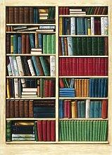 1art1 Bücherregale - Bibliothek 4-teilig